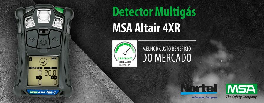 Detector Multigas Altair 4xR Nortel
