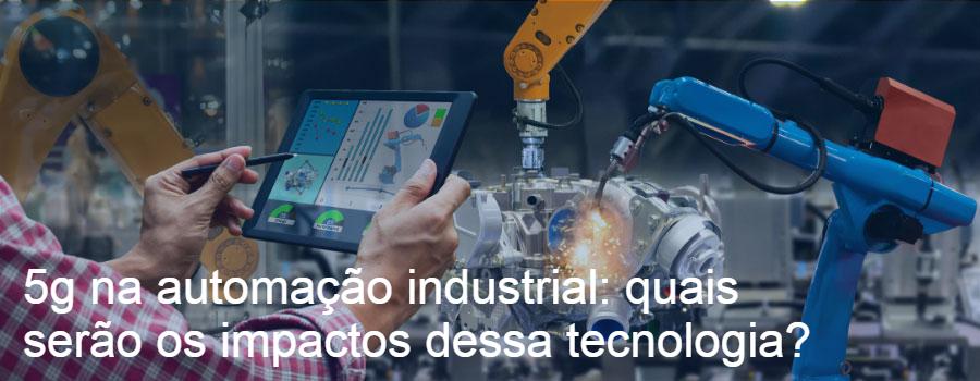 5G na automação industrial